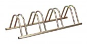4 Section Stand Alone Cycle Rack
