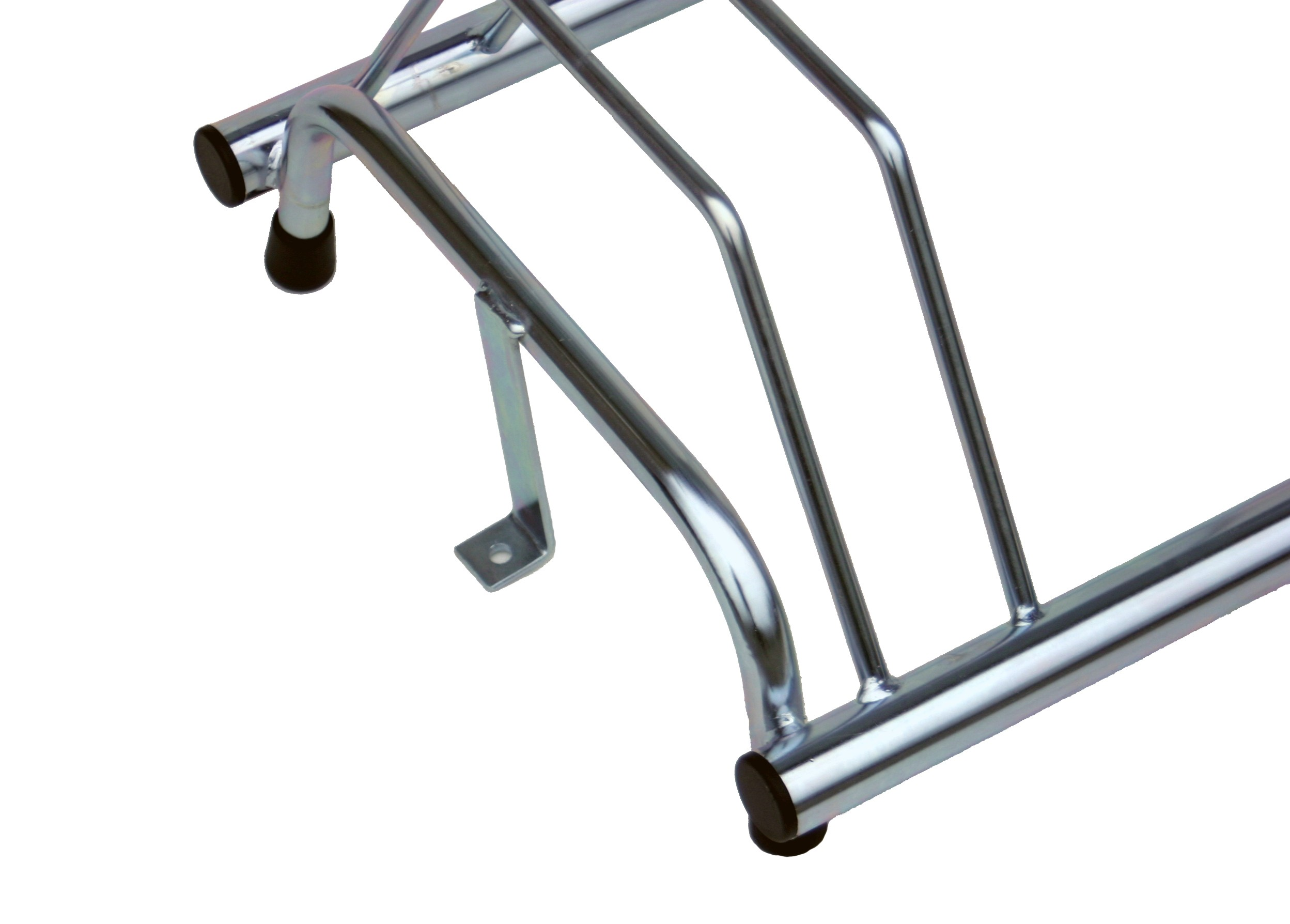 5 Section cycle rack with feet