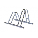Section Dual Height Cycle Rack