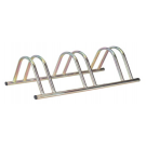 3 Section Stand Alone Cycle Rack