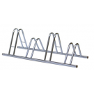 4 Section Dual Height Cycle Rack