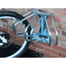3 Section adjustable wall mounted cycle rack