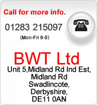 Our customer service is available on 01283 215097.